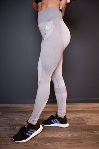 MSLDR PERFORMANCE LEGGINS GREY - MassiveSoldier©