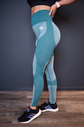 MSLDR PERFORMANCE LEGGINS OCEAN - MassiveSoldier©