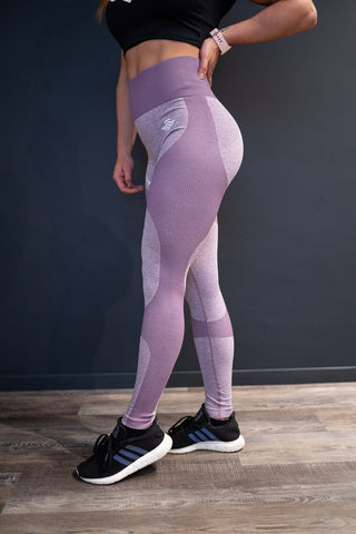 MSLDR PERFORMANCE LEGGINS PURPLE - MassiveSoldier©