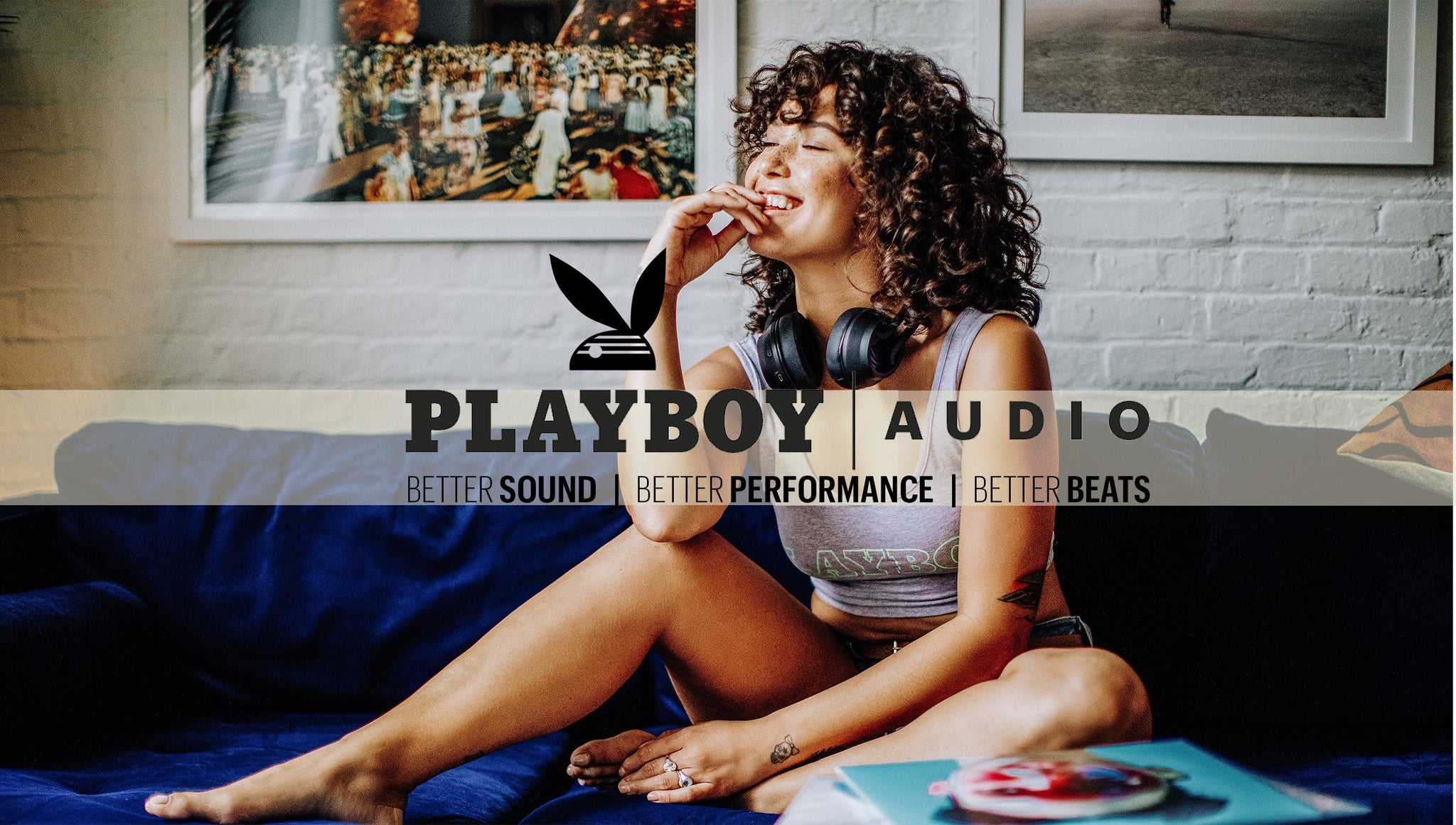 Playboy Best value premium wireless bluetooth headphones - Icon 1