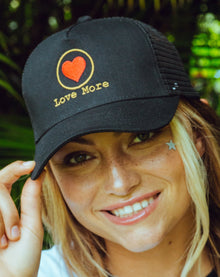 RYR Love More Embroidered Hat