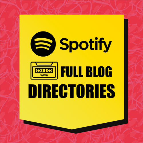 SPOTIFY & MUSIC BLOG DIRECTORIES
