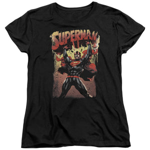 Superman - Lift Up Short Sleeve Women's Tee