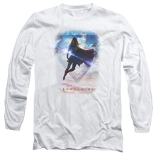 Supergirl - Endless Sky Long Sleeve Adult 18/1
