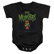 The Munsters - 50 Year Logo Infant Snapsuit