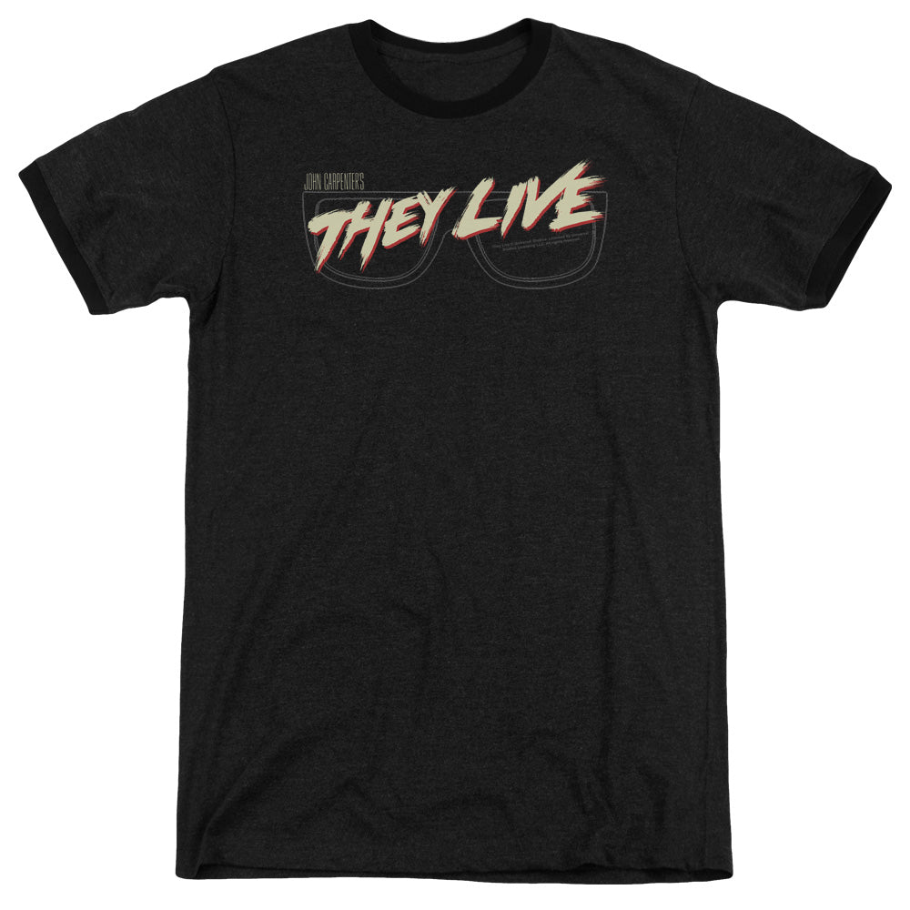 They Live - Glasses Logo Adult Heather