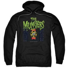 The Munsters - 50 Year Logo Adult Pull Over Hoodie