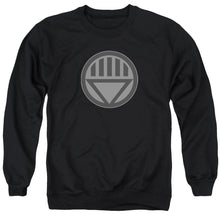 Green Lantern - Black Symbol Adult Crewneck Sweatshirt