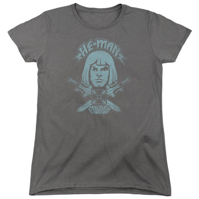 Masters Of The Universe - He Man Short Sleeve Women's Tee