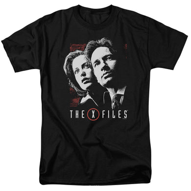 X Files - Mulder & Scully Short Sleeve Adult 18/1