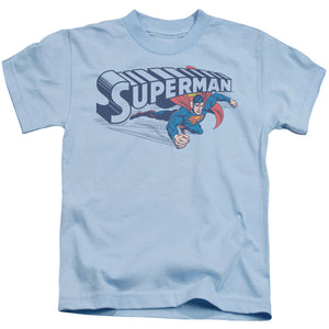 Superman - Under Logo Short Sleeve Juvenile 18/1