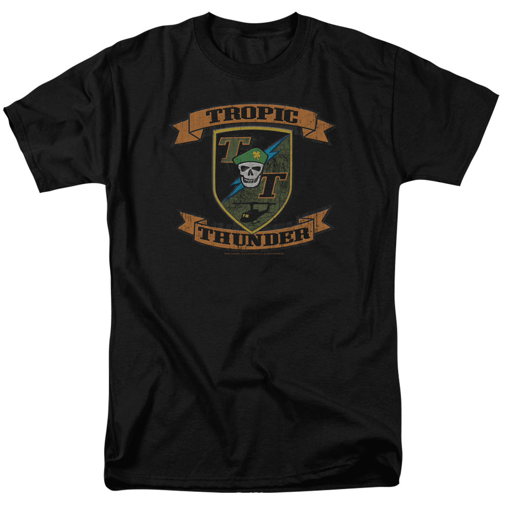 Tropic Thunder - Patch Short Sleeve Adult 18/1