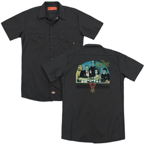 The Munsters - 50 Year Potion (Back Print) Adult Work Shirt