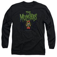 The Munsters - 50 Year Logo Long Sleeve Adult 18/1