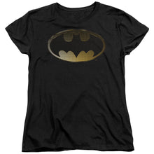 Batman - Halftone Bat Short Sleeve Women's Tee