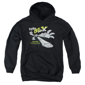 Dexter's Laboratory - Robo Dex Youth Pull Over Hoodie
