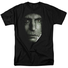 Harry Potter - Snape Head Short Sleeve Adult 18/1