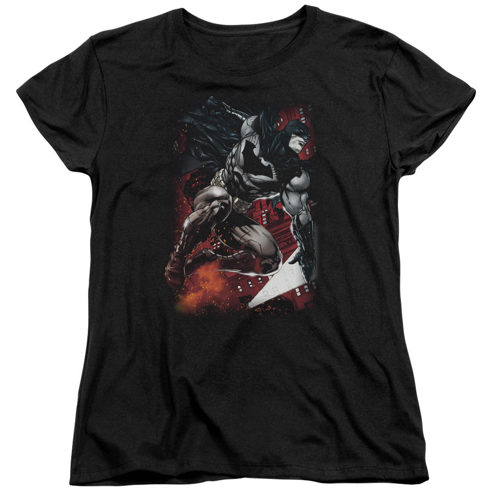 Batman - Sparks Leap Short Sleeve Women's Tee