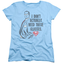 Superman - Don't Need Glasses Short Sleeve Women's Tee