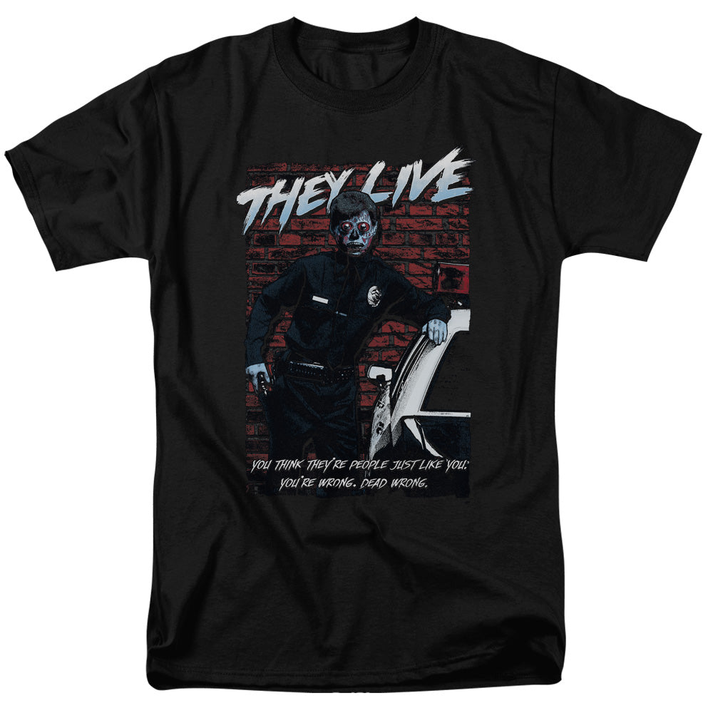 They Live - Dead Wrong Short Sleeve Adult 18/1