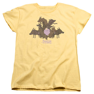 Adventure Time - Lsp & Wolves Short Sleeve Women's Tee