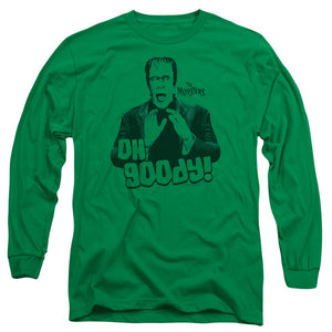 The Munsters - Oh Goody Long Sleeve Adult 18/1