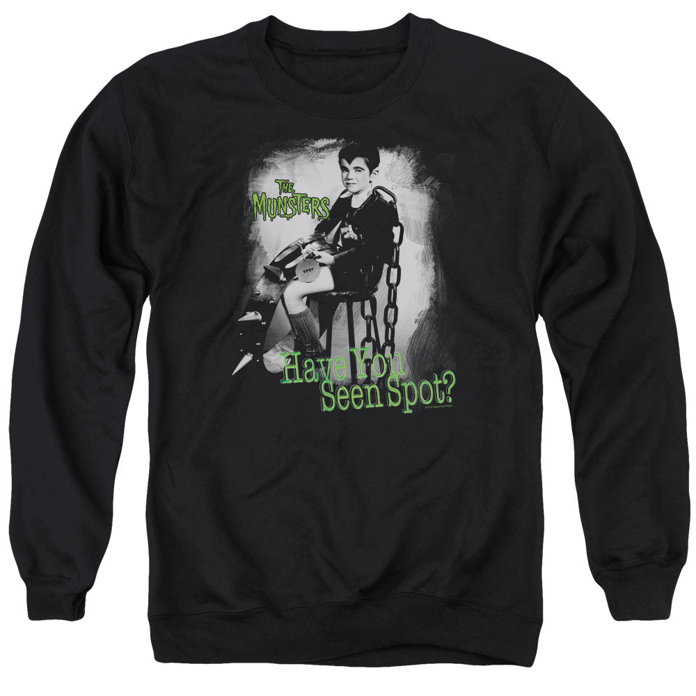 The Munsters - Have You Seen Spot Adult Crewneck Sweatshirt