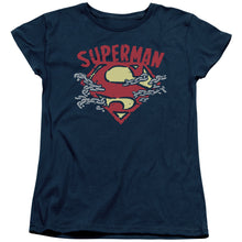 Superman - Chain Breaking Short Sleeve Women's Tee