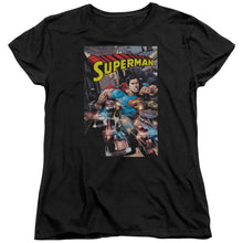 Superman - Action One Short Sleeve Women's Tee