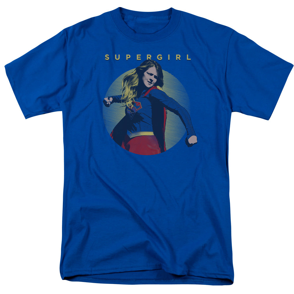 Supergirl - Classic Hero Short Sleeve Adult 18/1