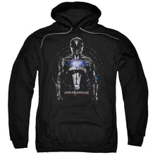 Power Rangers - Black Ranger Adult Pull Over Hoodie