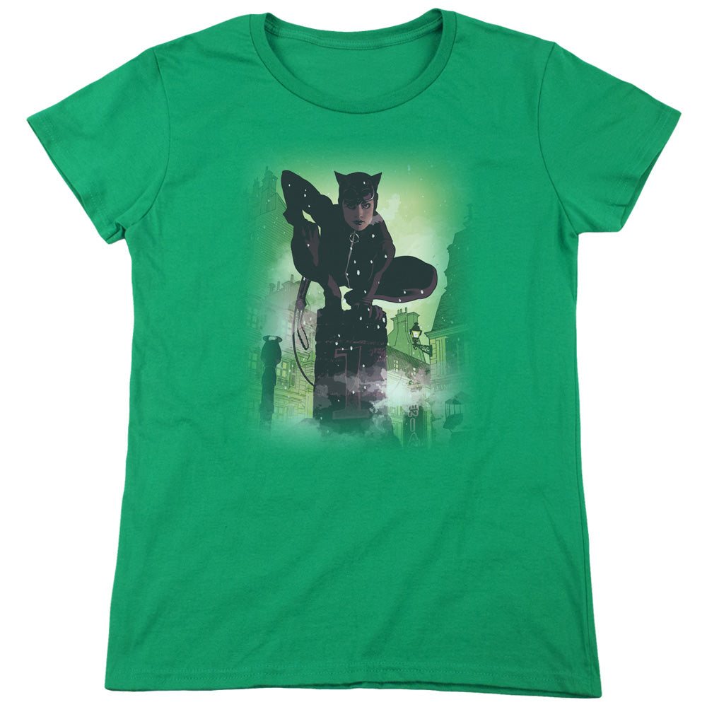Batman - Catwoman #63 Cover Short Sleeve Women's Tee