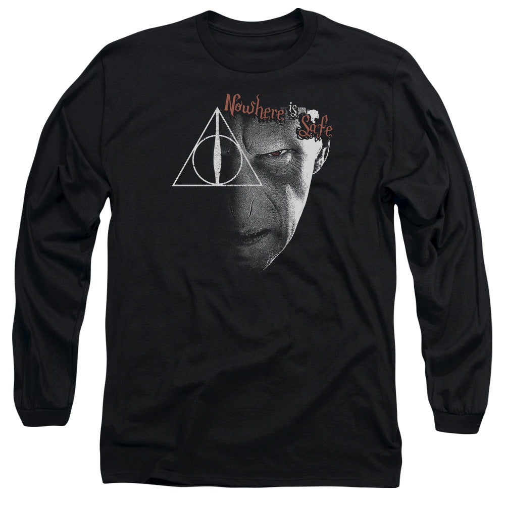 Harry Potter - Nowhere Is Safe Long Sleeve Adult 18/1