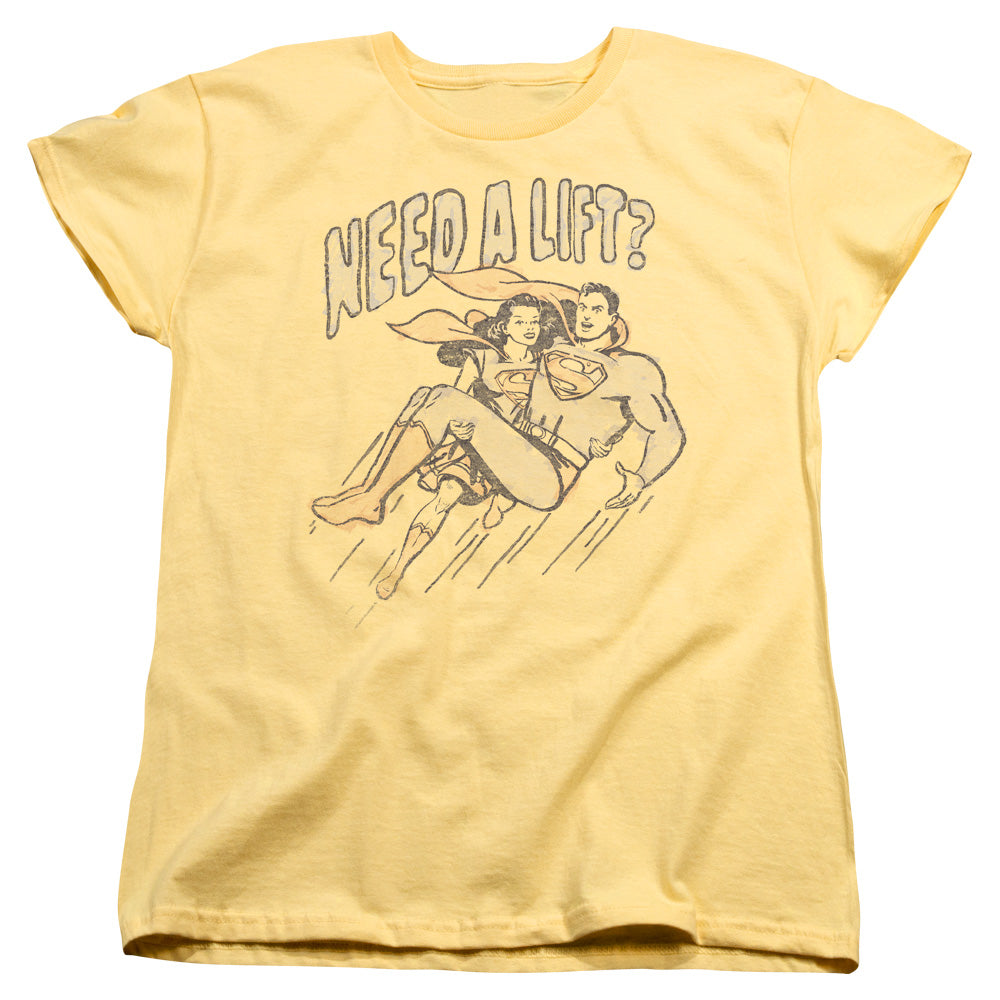Superman - Need A Lift Short Sleeve Women's Tee