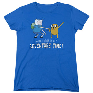 Adventure Time - Fist Bump Short Sleeve Women's Tee