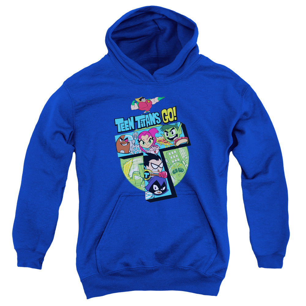 Teen Titans Go - T Youth Pull Over Hoodie