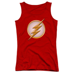Flash - New Logo Juniors Tank Top