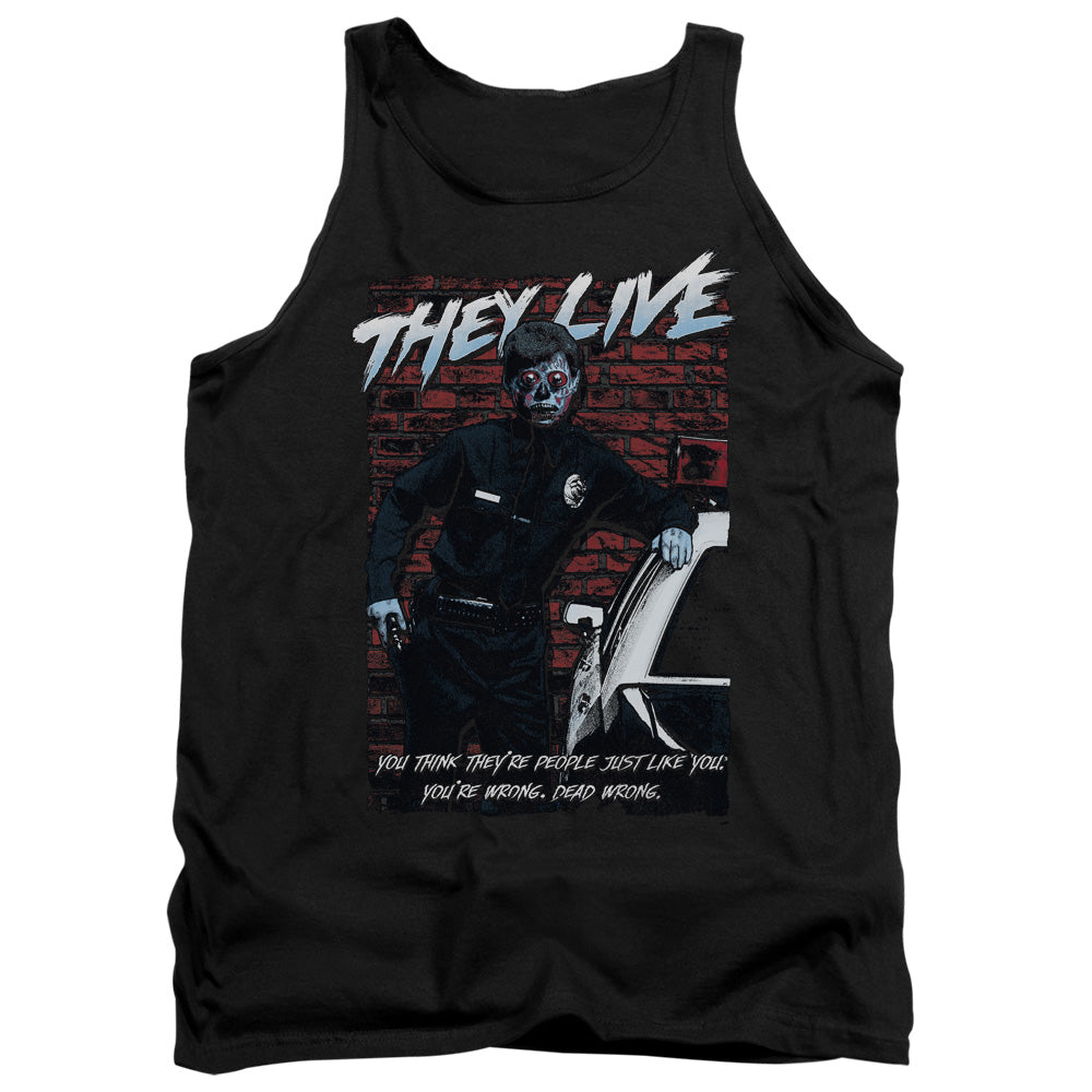They Live - Dead Wrong Adult Tank