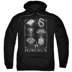 Harry Potter - Horcrux Symbols Adult Pull Over Hoodie