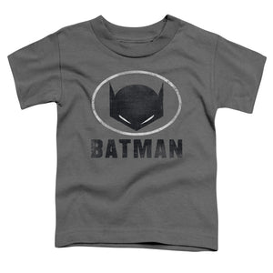 Batman - Mask In Oval Short Sleeve Toddler Tee