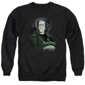 The Munsters - Man Of The House Adult Crewneck Sweatshirt