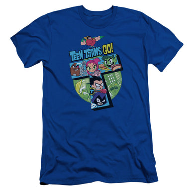 Teen Titans Go - T Short Sleeve Adult 30/1