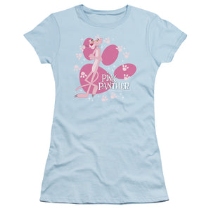 Pink Panther - Walk All Over Short Sleeve Junior Sheer