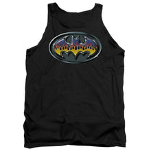 Batman - Hot Rod Shield Adult Tank