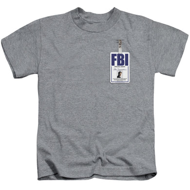 X Files - Mulder Badge Short Sleeve Juvenile 18/1