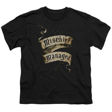 Harry Potter - Mischief Managed Short Sleeve Youth 18/1