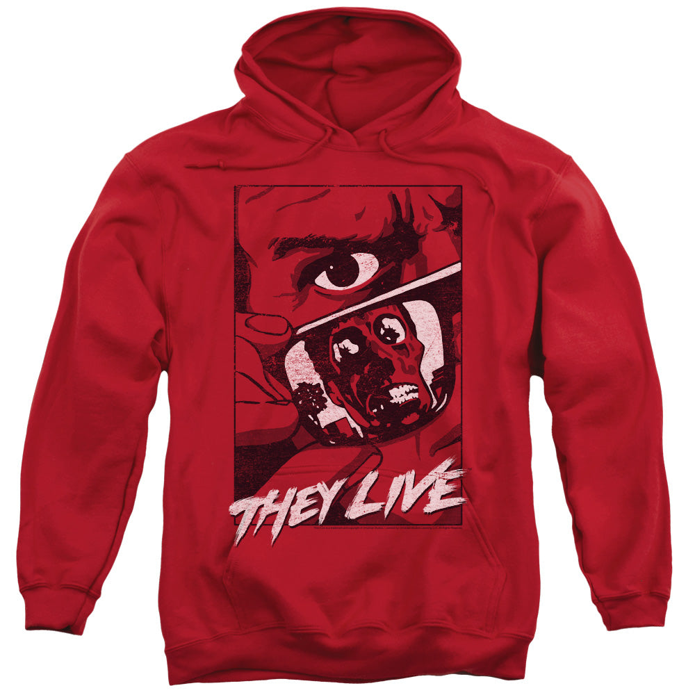 They Live - Graphic Poster Adult Pull Over Hoodie