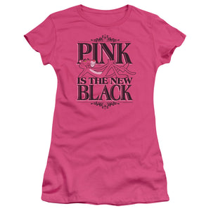 Pink Panther - The New Black Short Sleeve Junior Sheer