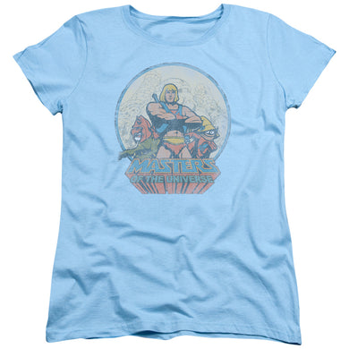 Masters Of The Universe - He Man And Crew Short Sleeve Women's Tee
