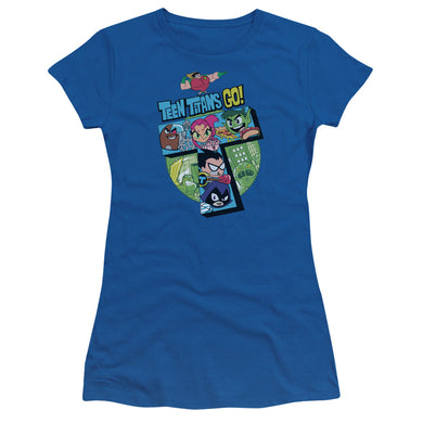 Teen Titans Go - T Short Sleeve Junior Sheer